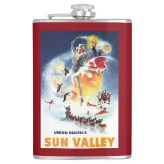 Montaje de Sonja Henje del poster de Sun Valley Petaca