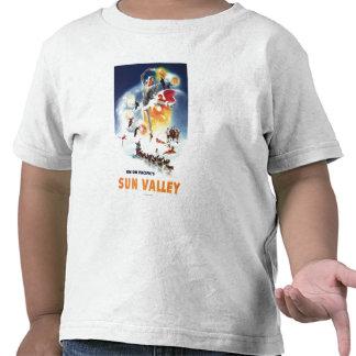 Montaje de Sonja Henje del poster de Sun Valley Camiseta