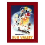 Montaje de Sonja Henje del poster de Sun Valley Postales