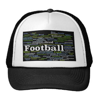 Montaje del fútbol gorra