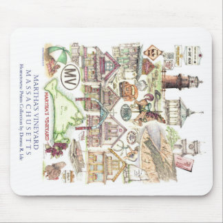 Montaje Mousepad del Martha s Vineyard Tapete De Ratones