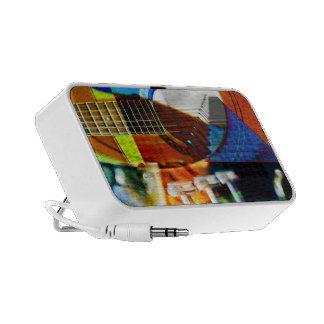 Montaje musical iPod altavoz