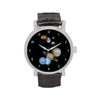 Montaje planetario relojes de pulsera