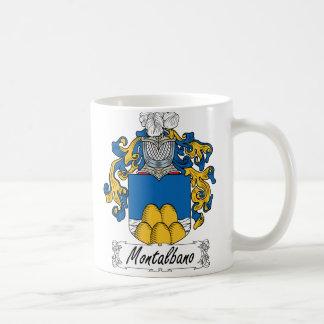 Montalbano Family Crest Classic White Coffee Mug