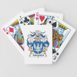Montalvo Family Crest Bicycle Poker Cards