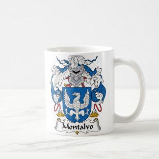 Montalvo Family Crest Coffee Mug