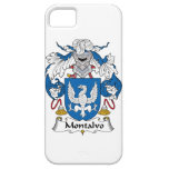 Montalvo Family Crest iPhone 5 Covers