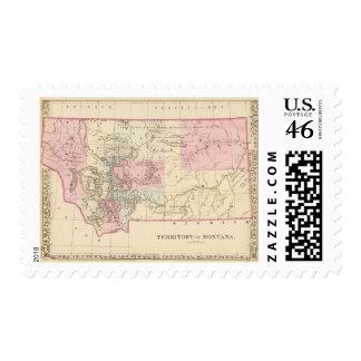 Montana 2 stamp