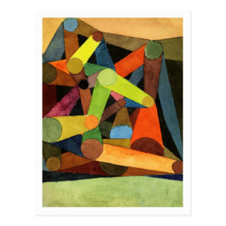 Montaña abierta de Paul Klee Tarjetas Postales