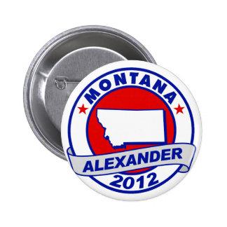 Montana Alexander Pinback Button