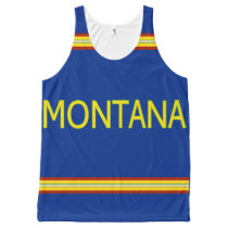 Montana All-Over Printed Unisex Tank