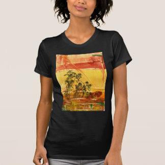Montaña amarilla del Shan de Huang Camiseta