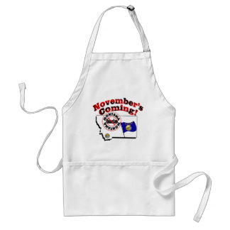 Montana Anti ObamaCare – November's Coming! Adult Apron