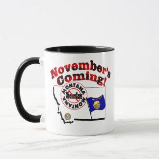 Montana Anti ObamaCare – November's Coming! Mug