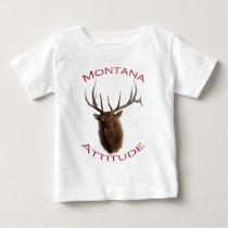 Montana Attitude Baby T-Shirt