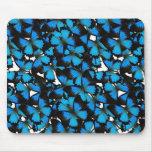 Montaña azul Swallowtail Alfombrillas De Ratones