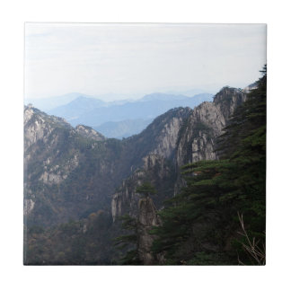 montaña azulejo cuadrado pequeño