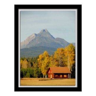 Montana Back Country Poster