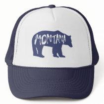 Montana Bear Trucker Hat
