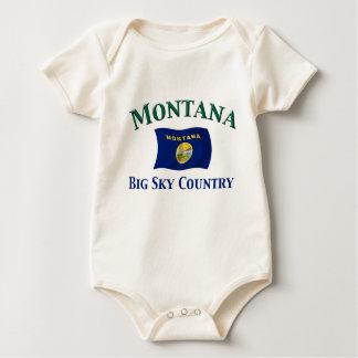 Montana Big Sky Country Baby Bodysuit