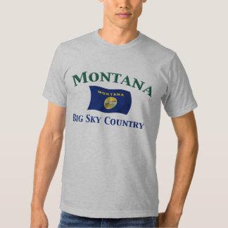 Montana Big Sky Country T Shirts