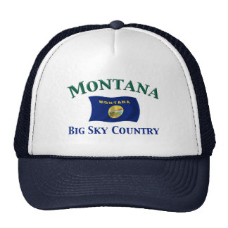 Montana Big Sky Country Trucker Hat