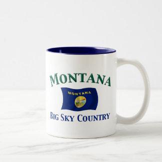 Montana Big Sky Country Two-Tone Coffee Mug