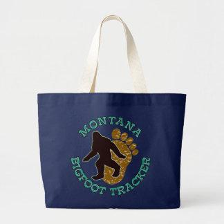 Montana Bigfoot Tracker Tote Bags