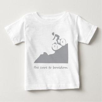 Montaña biking, la curación al aburrimiento camiseta