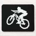 Montaña Biking rápidamente Alfombrillas De Ratón