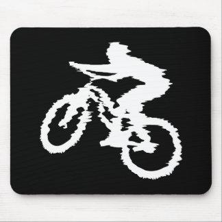 Montaña Biking rápidamente Tapete De Ratón