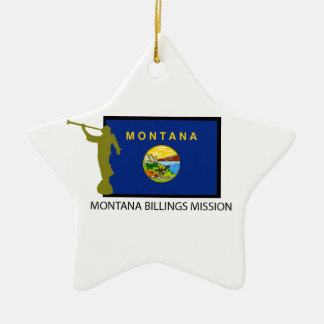 MONTANA BILLINGS MISSION LDS CTR CERAMIC ORNAMENT
