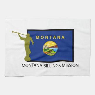 MONTANA BILLINGS MISSION LDS CTR HAND TOWEL