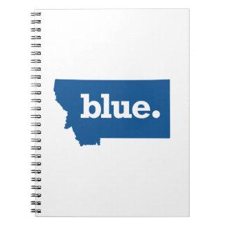 MONTANA BLUE STATE SPIRAL NOTEBOOK