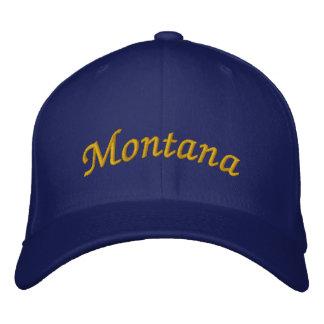 Montana bordó el gorra gorra bordada