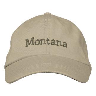 Montana bordó la gorra de béisbol el gorra de colo