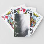 Montaña brumosa baraja de cartas