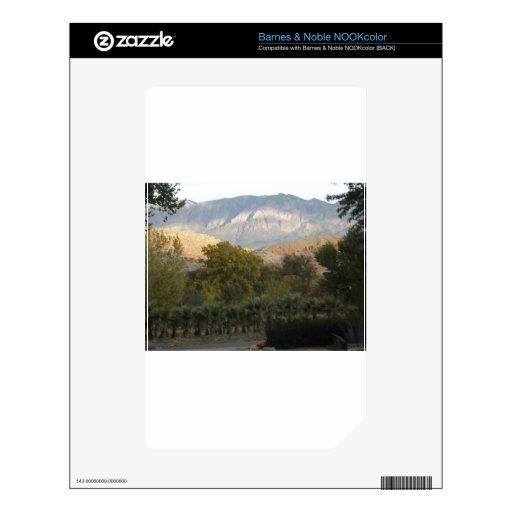 Montaña Calcomanías Para El NOOK Color