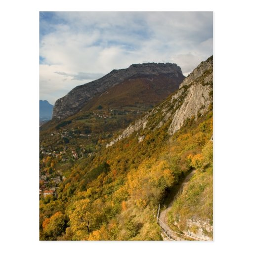 Montaña cerca de Grenoble Tarjetas Postales