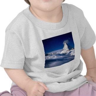 Montaña Cervino Valais Suiza Camisetas