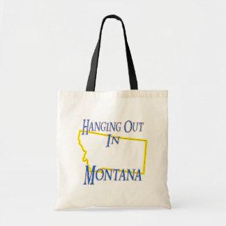 Montana - colgando hacia fuera bolsas de mano