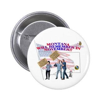 ¡Montana - congreso de vuelta a la gente! Pins