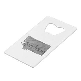 Montana Credit Card Bottle Opener