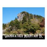 Montaña de abuelo NC Tarjeta Postal