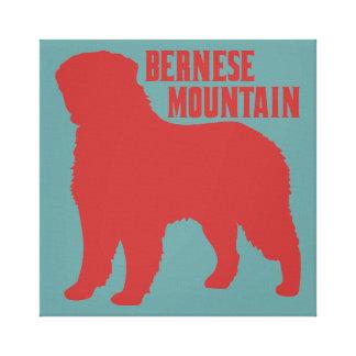 Montaña de Bernese Impresión En Lienzo Estirada