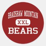 Montaña de Bradshaw - osos - alta - valle del Pegatina Redonda