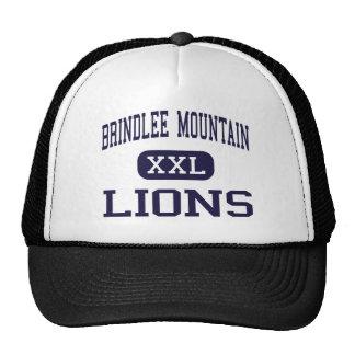 Montaña de Brindlee - leones - alta - Guntersville Gorro De Camionero
