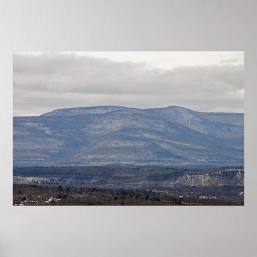Montaña de Catskill Poster