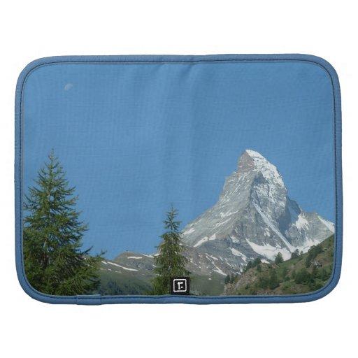 Montaña de Cervino en las montañas suizas, Europa Planificador