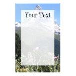 Montaña de Cervino en papel de escribir de la prim Papelería